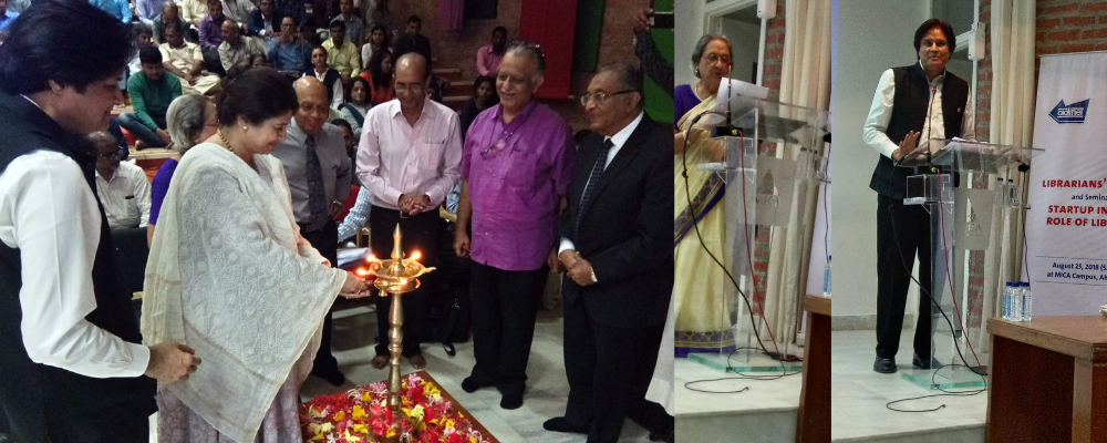 Lighting the Lamp by Smt. Rhoda Bharucha, Hon. Director, ADINET