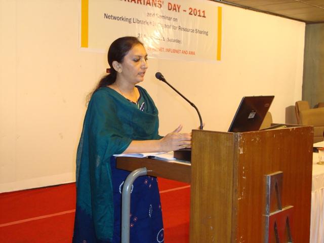 47  Ms Rajshree Patel, Assistant Librarian, INDUS, Gandhinagar