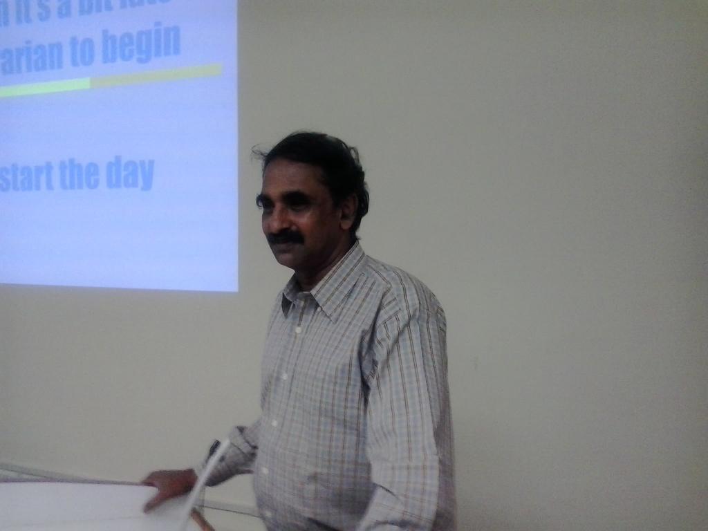 0025  Keynote Address by Registrar, DA-IICT