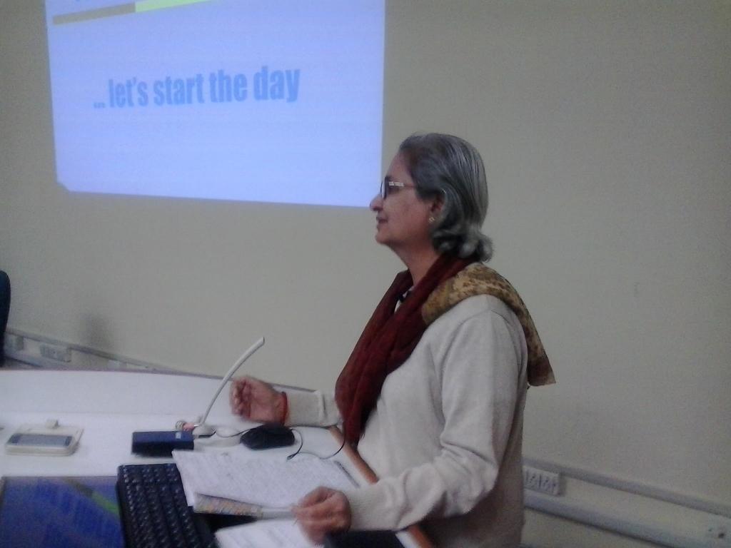 0657  Presentation by Smt. Rhoda Bharucha, Hon. Director, ADINET