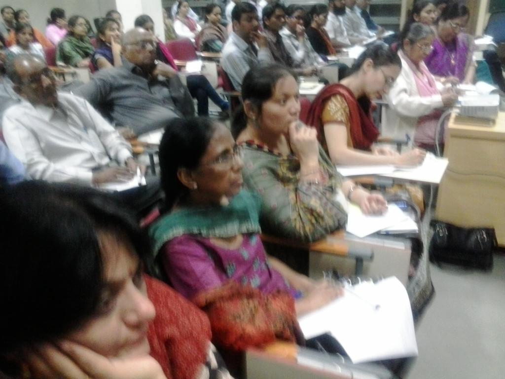 2013  Audience at DA-IICT