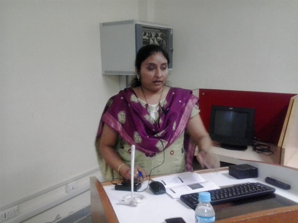 3117  Presentation by Ms. Rupam Sikligar, Librarian, GIT.