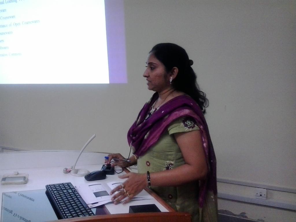 3205 Presentation by Ms. Rupam Sikligar, Librarian, GIT.