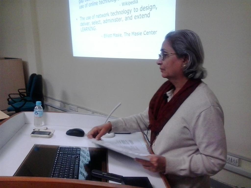 5616 Presentation By Smt. Rhoda Bharucha, Hon. Director, ADINET