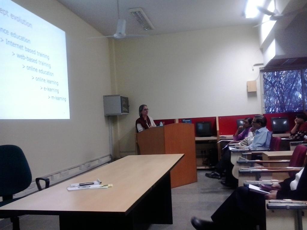 5652  Presentation By Smt. Rhoda Bharucha, Hon. Director, ADINET