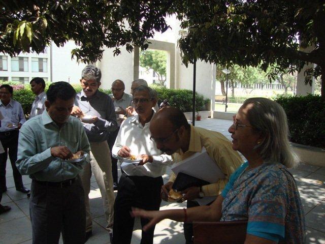 3019  High Tea at PDPU, Gandhinagar