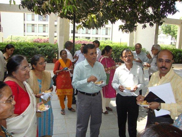 3021 High Tea at PDPU, Gandhinagar