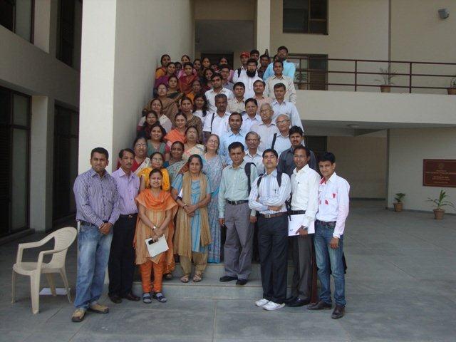 3041 Group Photograph of Participants at PDPU, Gandhinagar