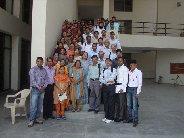 3042  Group Photograph of Participants at PDPU, Gandhinagar