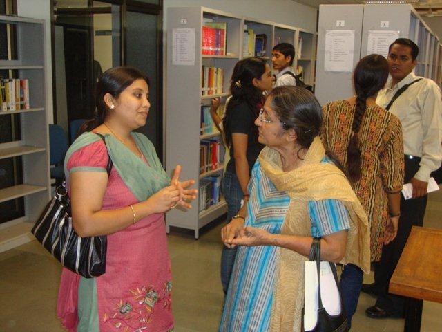 3049 Ms Swadha Majmudar &    at  PDPU Library, Gandhinagar