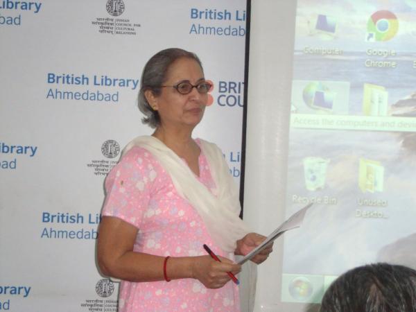 Mrs. Rhoda Bharucha, Hon. Director, ADINET.
