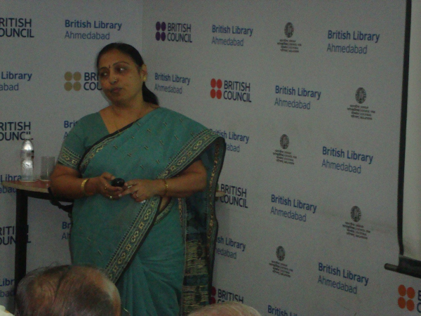 Presentation by Ms. Geeta Gadhavi, Gujarat University, Ahmedabad