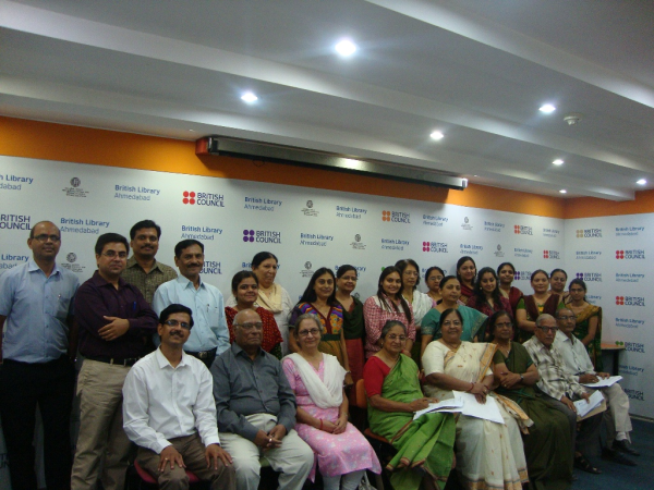 Participants at British Library Seminar