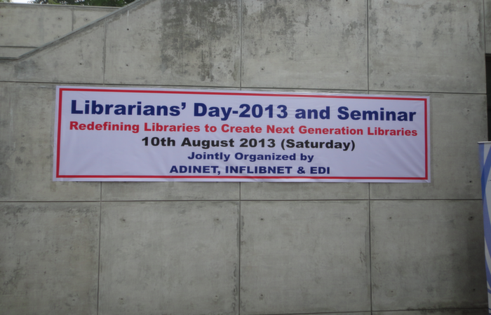 Librarian's Day 2013 Banner
