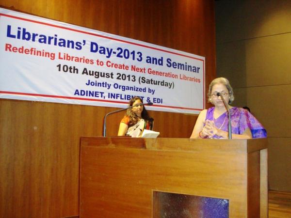 Welcome Address by Ms. Rhoda Bharucha, Hon. Director, ADINET