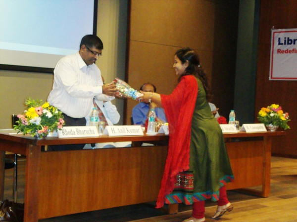 Dr. H. Anil Kumar, IIM, Ahmedabad at EDI