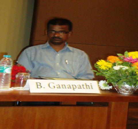 Mr. B. Ganapathi, Librarian, EDI, Gandhinagar