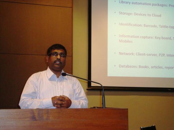 Keynote Address by Dr. H. Anil Kumar, Librarian, IIM, Ahmedabad