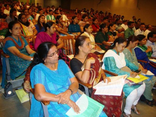 Participants at EDI, Gandhinagar
