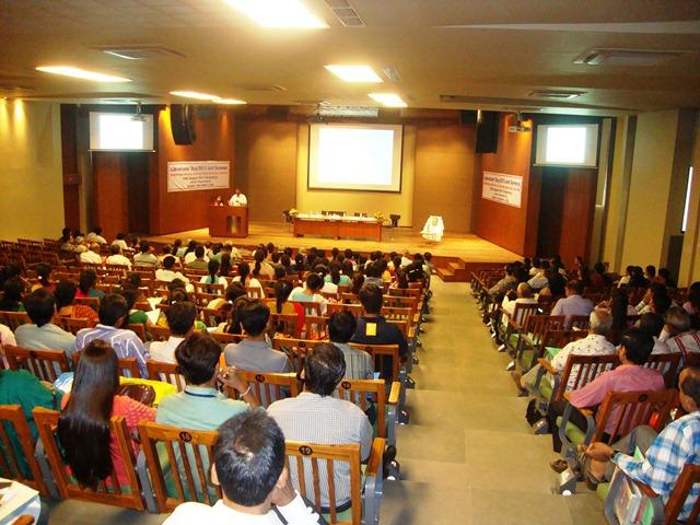 Audience at EDI Prekshagruh Auditorium