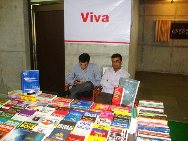 Viva Books Pvt. Ltd.  Stall at EDII, Gandhinagar