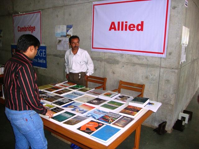 Allied Pubs. Group, Ahmedabad Stall at EDII, Gandhinagar