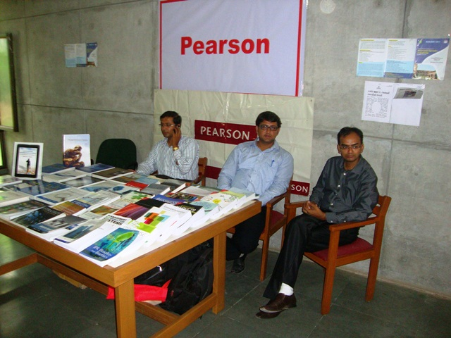 Pearson Education Stall at EDII, Gandhinagar
