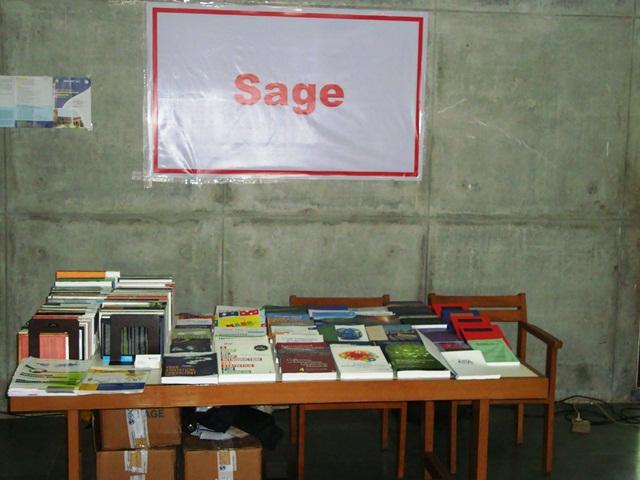 SAGE Pubs. India Stall at EDII, Gandhinagar