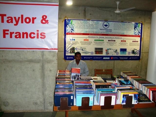Taylor & Francis Books India Pvt. Ltd. Stall at EDII, Gandhinagar
