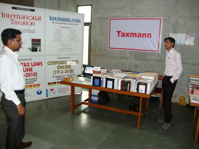 Taxmann Pubs. Pvt. Ltd. Stall at EDII, Gandhinagar