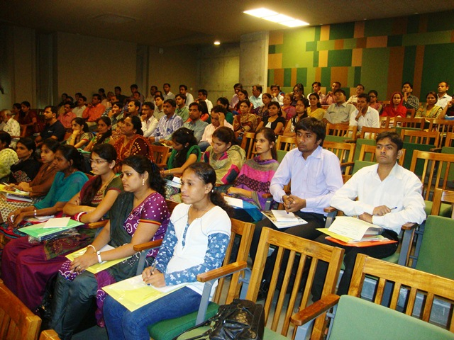 Audience at EDI Auditorium