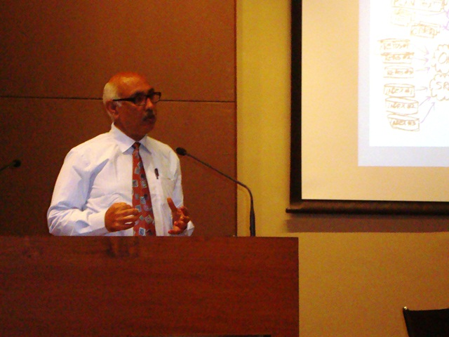 Chief Guest Dr. Anup K. Singh, Director General, Nirma Uni.