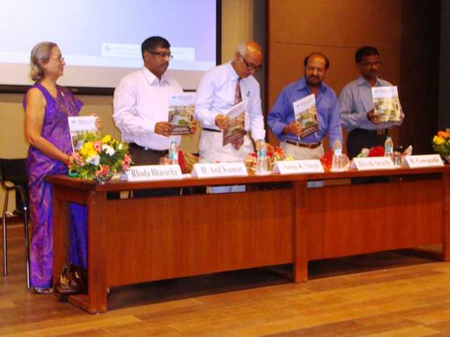 Release of Book of Paper 2013  by Dr. Anup Singh, Dr. Dinesh Awasthi, Dr. H. Anil Kumar