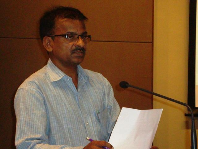 Mr.  B. Ganapathi, Librarian, EDII