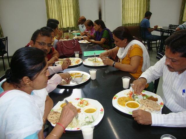 Lunch at EDI