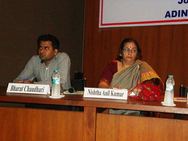Mr. Bharat Chaudhary & Dr. Nishtha Anil Kumar