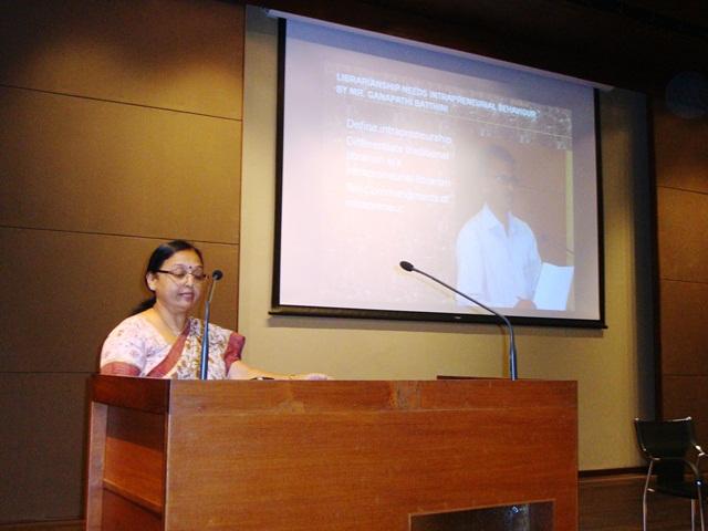 Paper Presentation by Ms. Geeta Gadhavi