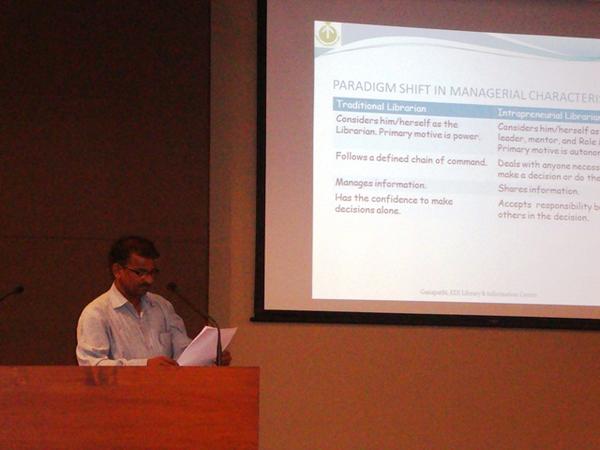 Paper Presentation by Mr. Ganapathi Batthini