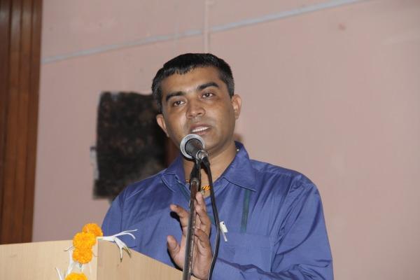 Vote of Thanks by Dr. Yogesh Parekh