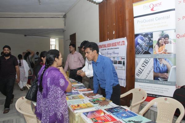 Book Exhibition @ Librarians Day 2014