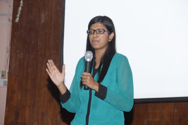 Paper Presentation by Prachi Doshi