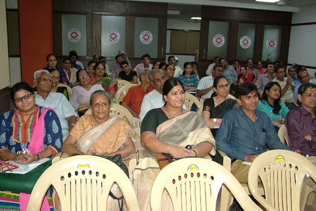Delegates at the Seminar on Health Information for all held at Sadvichar Parivar on 2nd July 2016