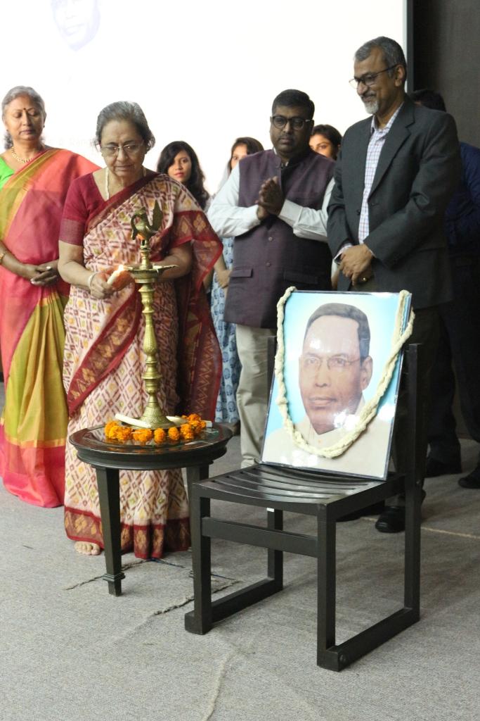 Lightening of Lamp-Mrs. Rhoda Bharucha