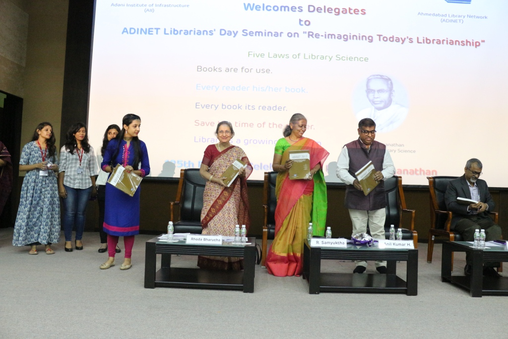 Release of Proceedings of 125th Birthday celebration of Dr. S R Ranganathan