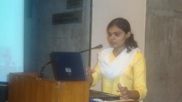 32  Ms Kruti Trivedi, Scientist-B, INFLIBNET