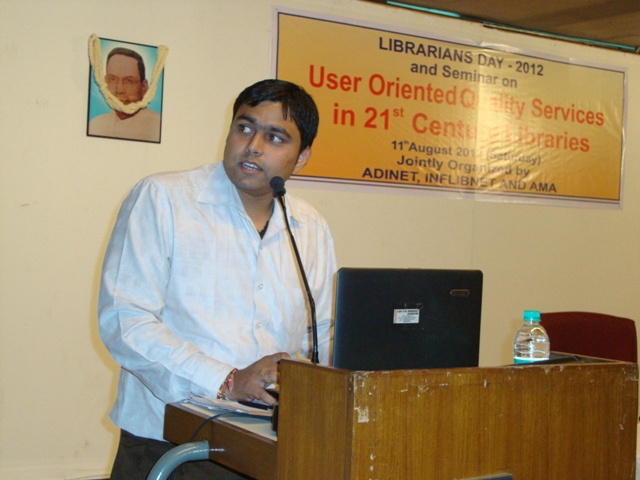 ADINET Website Technical Presentation by Bhavesh Patel