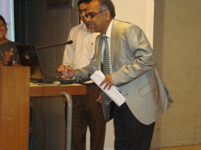 Dr. Nagesh Rao, Director, MICA Launch the ADINET New Website
