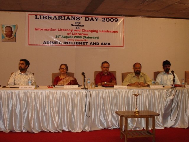 52  Dias Dignitaries on Librarians' Day 2009