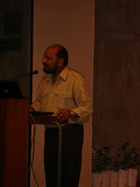 62    Former Director of EDII, Dr. Dinesh Awasthi Speech