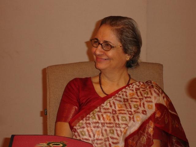73  Smt. Rhoda  Bharucha, Hon. Director, ADINET